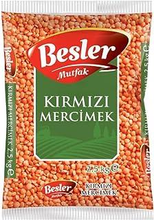 Besler Kırmızı Mercimek 2.5 Kg