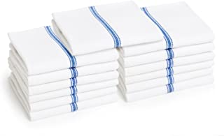 Liliane Collection Kitchen Dish Towels - Includes 13 Towels - Commercial Grade 100% Cotton Towels (27