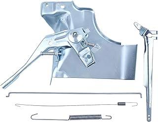 Haishine Accionamiento del Acelerador Palanca del Brazo del regulador Barra de Acoplamiento Kit de Resorte para Honda GX340 GX390 Chino 188F 190F 11HP 13HP Motor de Motor de 4 Tiempos