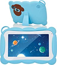 $65 » Kids Tablet, WHITE TIGER 7 Inch Android Tablet for Kids, 32GB ROM, Kidoz Pre Installed, IPS HD Display, WiFi Android Tablet, Kid-Proof Case (Blue)