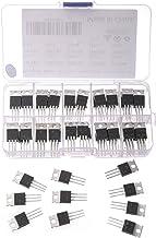 Bridgold 50pcs 10Types IRF Series Mosfet transistors Assortment Kit, Including IRFZ44 IRF510 IRF520 IRF530 IRF540 IRF640 IRF740 IRF840 IRF3205 IRF9540 Package