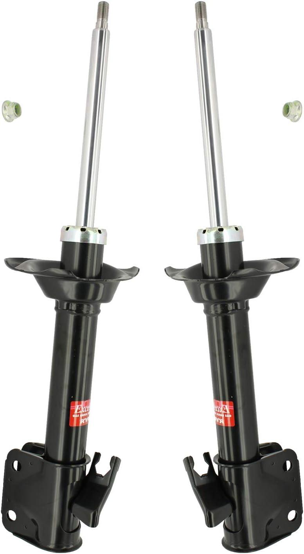 Pair Set of 2 Rear KYB For SALENEW大人気! Impr セール特価 Suspension Struts Excel-G Subaru
