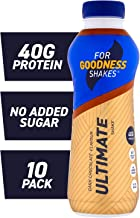 For Goodness Shakes Ultimate Protein Chocolate Shake 475ml – Pack of 10 Estimated Price : £ 20,60