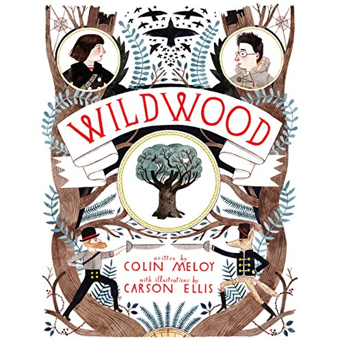 Wildwood audiobook cover art