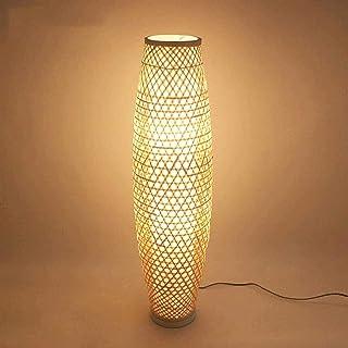 Xiaokang Lampe de Sol en Bambou Osier Rattan Ombre lumière lumière lumière lumière Rustique Asiatique Japonais Nordique tu...