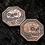 Memento Mori Copper Reminder Coin