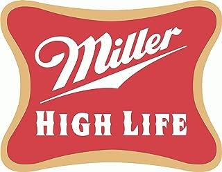 Boston Decal Works Miller High Life Beer Drink Bumper Sticker 2.5