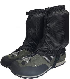 Aesy Legging Polainas, Cubierta Protectora Duradera Impermeable para la Pierna Ligera Nieve Polainas, para Ciclismo al Aire Libre Senderismo Montaña Trekking Esquí Escalada Caza