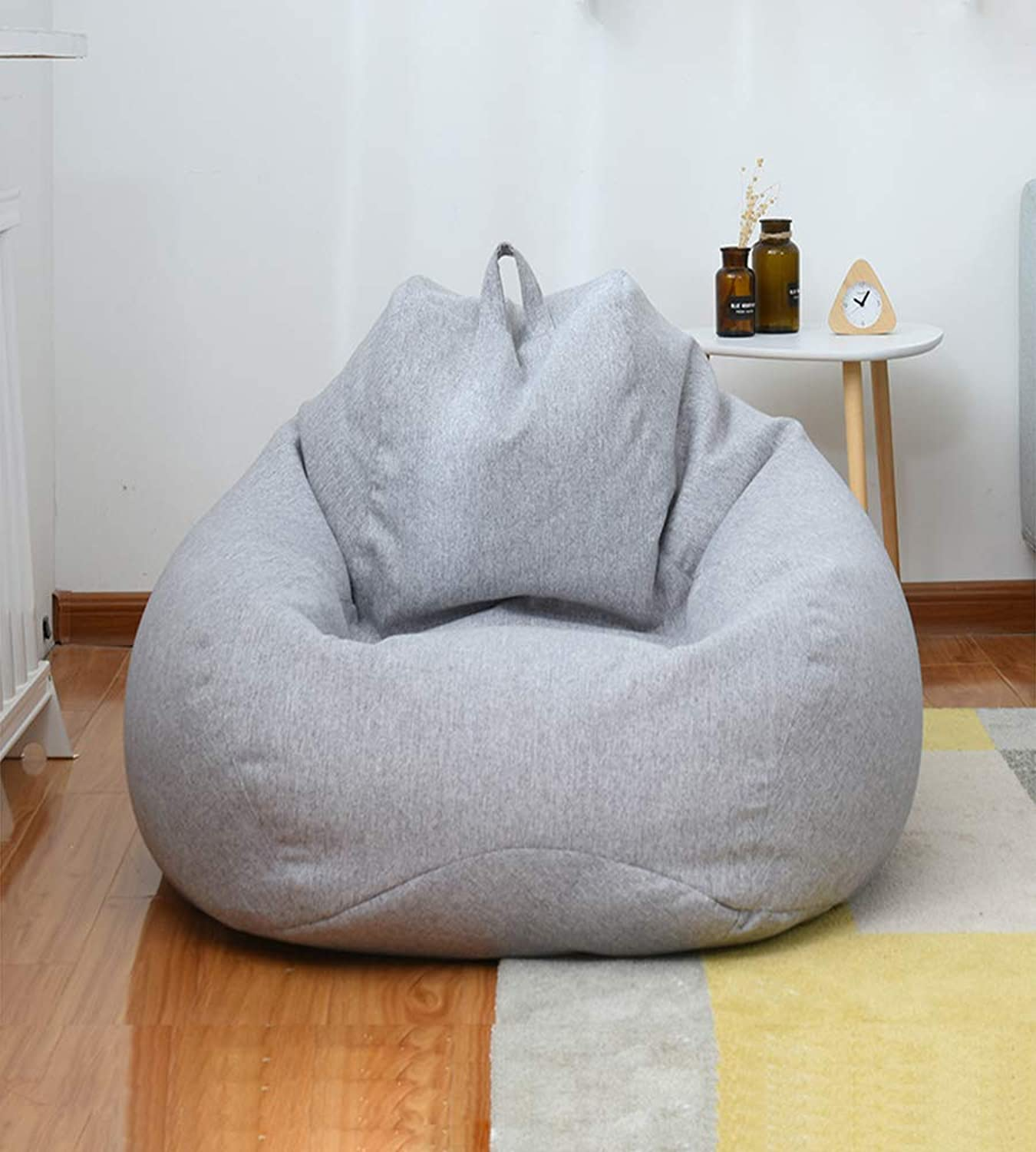 Beanbag Chair for Indoor and Outdoor Use, Great for Gaming Chair and Garden Chair,009,80cmx90cm 2.6ftx2.9ft