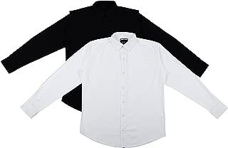 Ben Martin Men's Cotton Casual Shirt (Combo of 2)