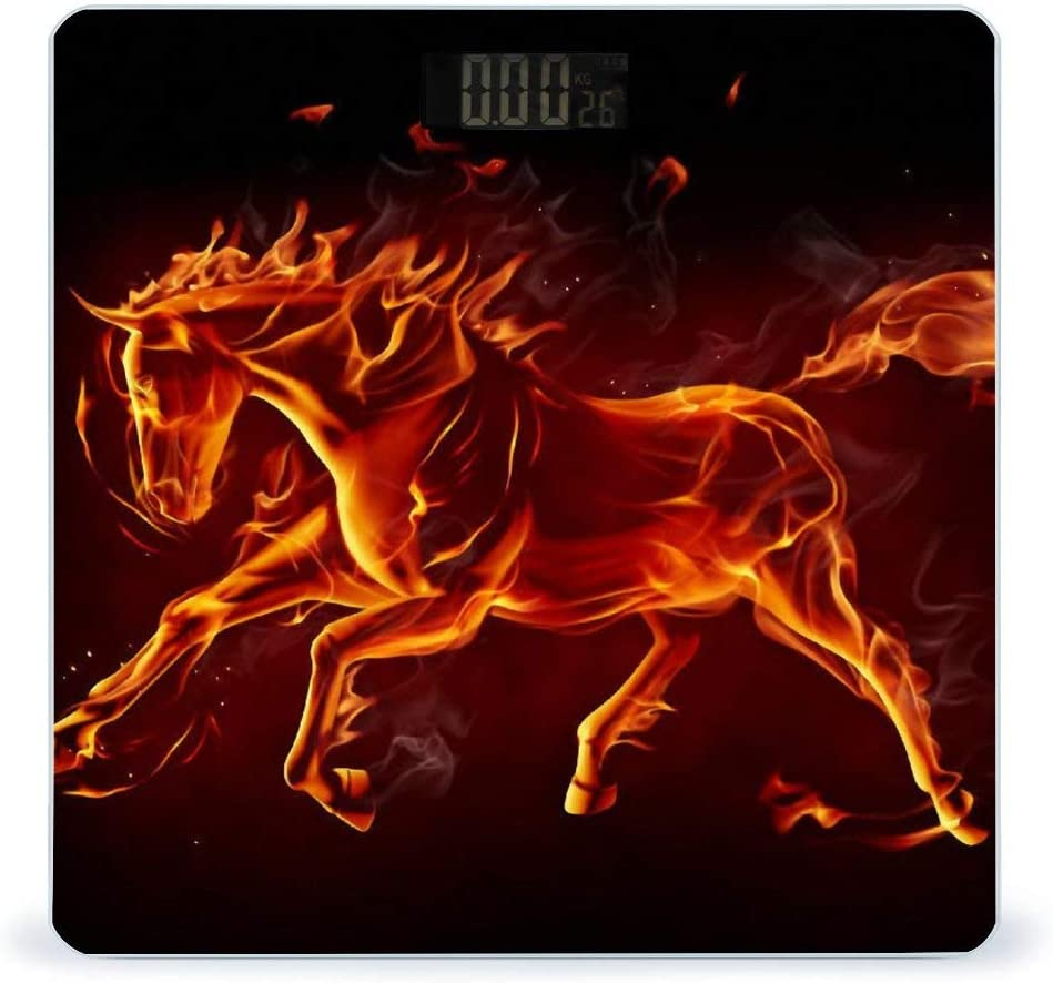 CHUFZSD Flame Horse Highly Accurate D Smart Scale Fitness Max 68% OFF Weight Popular products