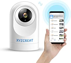 XYZCREAT 1080p Home Security Camera Wireless Cameras Work with Alexa Smart Home Camera with Motion Detection/Night Vision/...