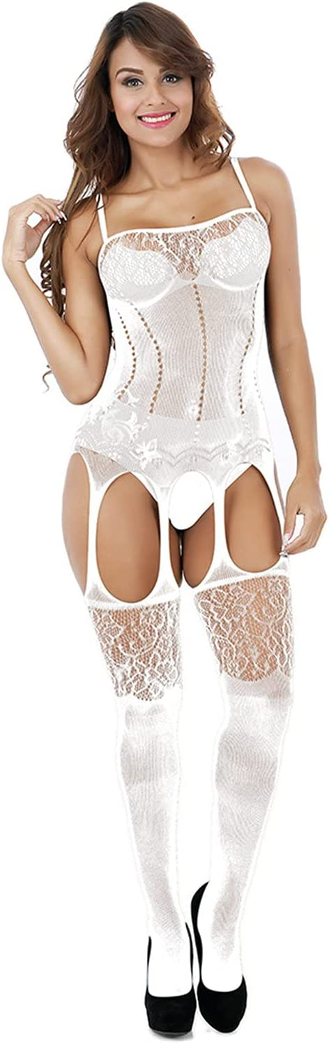 Womens Lace Stockings Colorado Springs Special Campaign Mall Lingerie Set Teddy Mesh Underwear Babydoll