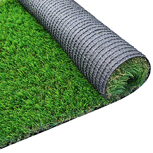 WAENLIR Realistic Artificial Grass Turf/Rugs, 2.3 x 3.3FT (7.59 Square ft) Synthetic Turf Mat for Pets,Astro Turf Rug for Patio,Indoor,Outdoor Garden, Lawn, Balcony