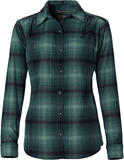 Royal Robbins Womens Merinolux Flannel Long Sleeve