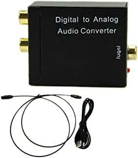 Joick Digital to Analog Audio Converter Adapter 24-bit S/PDIF L/R Audio Converter Adapter