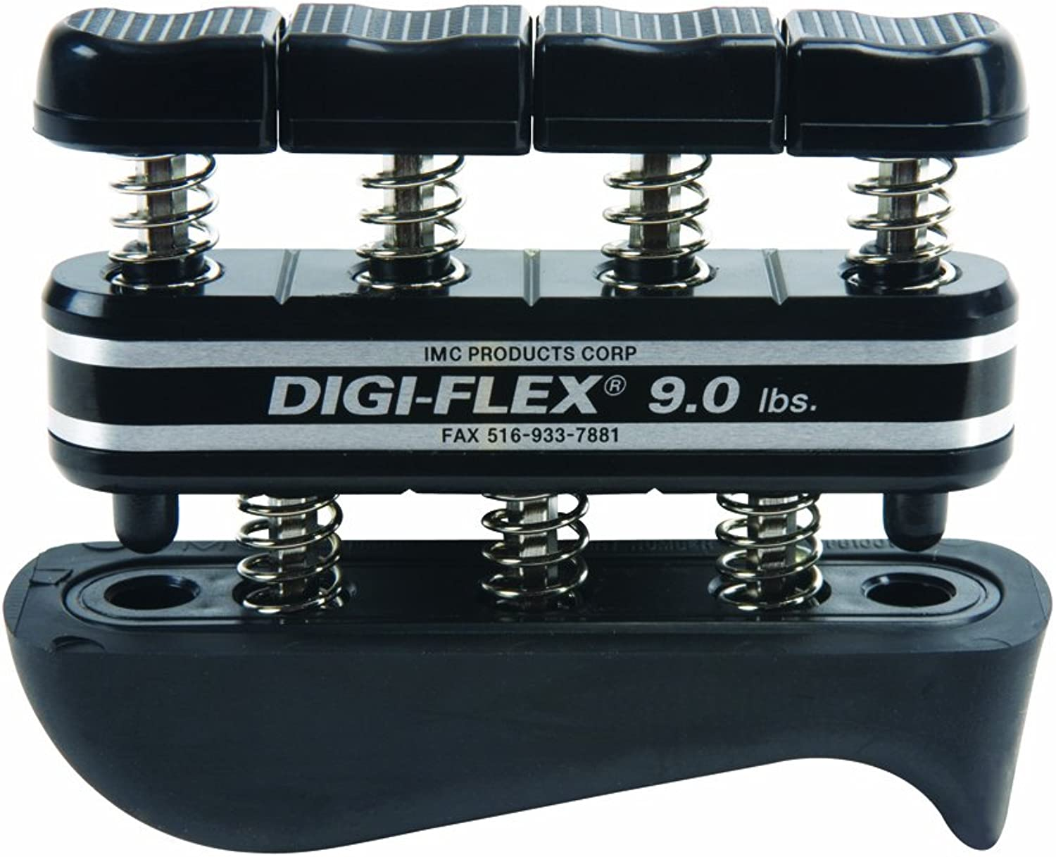 DigiFlex Black Hand and Finger Exercise System, 9 lbs Resistance