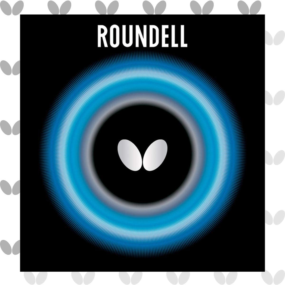 Butterfly Roundell Table Tennis Rubber Sheet 2.1 or Max 77% OFF - Weekly update 1.9 mm