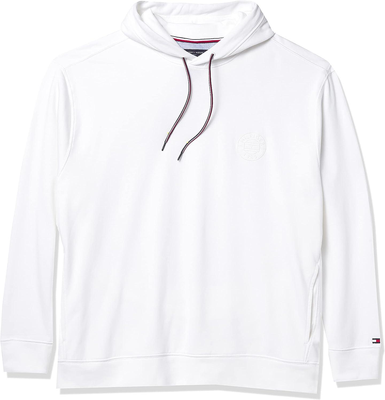 Tommy Hilfiger mens Tommy Hilfiger Men's Big & Tall Crest Hoodie Sweatshirt