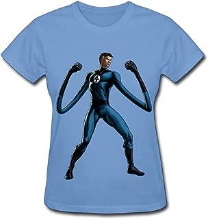 Women's Mr. Fantastic Full Artwork T-shirts Sky