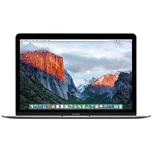 MacBook (12-inch/1.1GHz Dual Core Intel Core m3/256GB/8GB/802.11ac/USB-C/スペースグレイ)