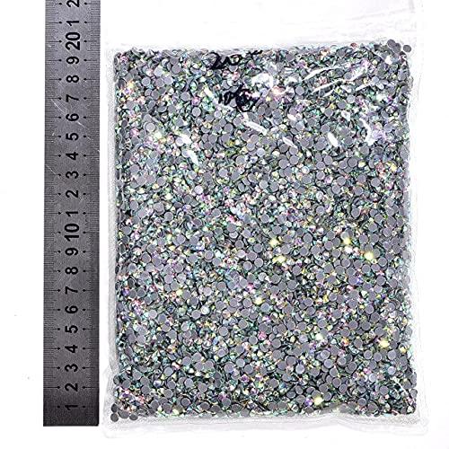 WEILAI Ss3-Ss50 14400Pcs/Big Bag Hotfix Rhinestones Cristal Hierro En Piedra Para Prendas Y3851