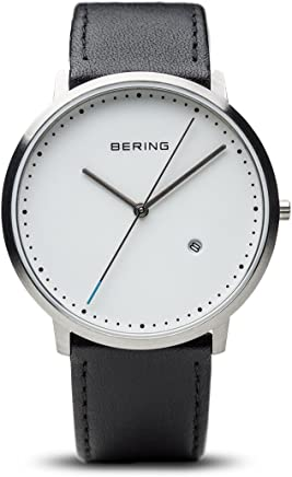 BERING Time 11139-404 Classic Collection Watch with Calfskin Band and Scratch Resistant Sapphire Crystal