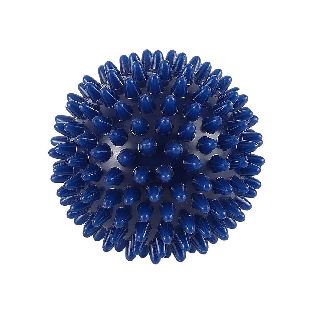 水没メンタル腫瘍PVC High Density Spiky Massage Ball Foot Pain & Plantar Fasciitis Reliever Treatment Hedgehog Ball Massage Acupressure Ball