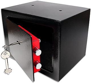 comprar comparacion Schramm® Caja Fuerte Caja Fuerte con Cerradura Mini Caja Fuerte Mini Caja Fuerte de Pared Caja Fuerte para Muebles Caja Fu...