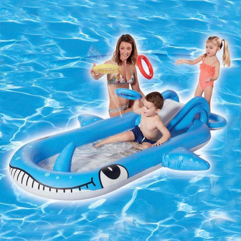 Sommer Stil Aufblasbaren Pool Mit Rutsche Aufblasbare Spielzeuge, Nach Hause Sand Pool, Marine Ball Pool, Bewsserungsbecken, Geeignet Für Den Auenbereich - 245  157  21   38cm A