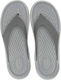 5a84133883e2 Crocs flip flops womens capri iv comfortable sandals