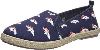 FOCO NFL Womens NFL Espadrille Canvas Shoe - Womens