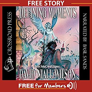 The Gentle Brush of Wings: A Free Short Story from Defining Moments                   By:                                                                                                                                 David Niall Wilson                               Narrated by:                                                                                                                                 Basil Sands                      Length: 41 mins     654 ratings     Overall 3.2