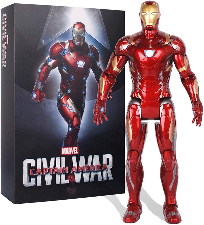 Envío rápido y el mejor servicio GXHLLYZY Marvel Marvel Marvel Avengers  Figura De Acción De Iron Man De 14 Pulgadas   36 Cm, Iron Man Juguetes, Muebles para Juntas, Juguetes para Niños Grandes  Entrega gratuita y rápida disponible.