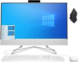 "2021 Newest HP 23.8"" FHD Non-Touch All-in-One Desktop Computer, AMD Athlon Silver 3050U Processor 2.3 GHz, 16 GB RAM, 512 ..."