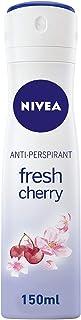 NIVEA Fresh Cherry Deodorant For Women Spray, 150ml, 85322