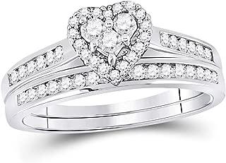 Best 9 carat white gold princess cut diamond ring Reviews