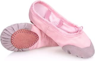 Ruhakslen Girl Ballet Shoe Canvas Dance Practice Slippers