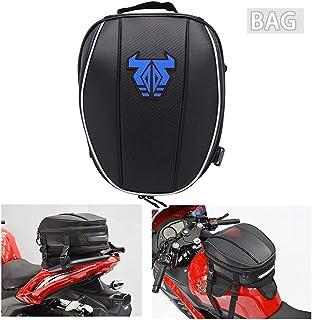 Mochila impermeável para cauda de motocicleta – 12-15L dupla alforje grande capacidade, bolsa para assento de bagagem, bol...