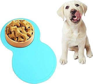 Vivaglory Estera de comida de Perro Grande cuenco del animal doméstico Impermeable Antideslizante Para Mantel De Alimentación
