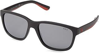 406f75854 Polo Ralph Lauren Ph 4142 - Óculos De Sol 5732/6g Preto Fosc