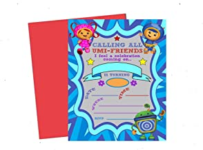 Calling All Umizoomi Friends! Team Umi Zoomi Party Supplies Invitations Decor (Invite)