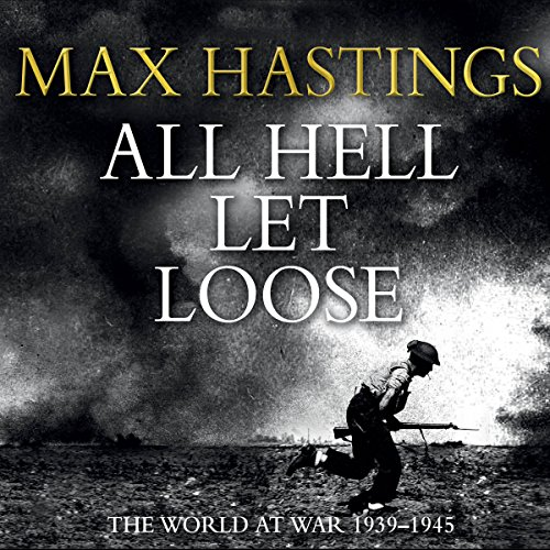 All Hell Let Loose audiobook cover art