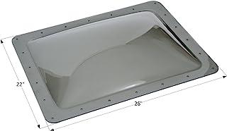 """ICON 12119 Single Pane Exterior Skylight SL1824S - Smoke, 24"""" x 18"""""""