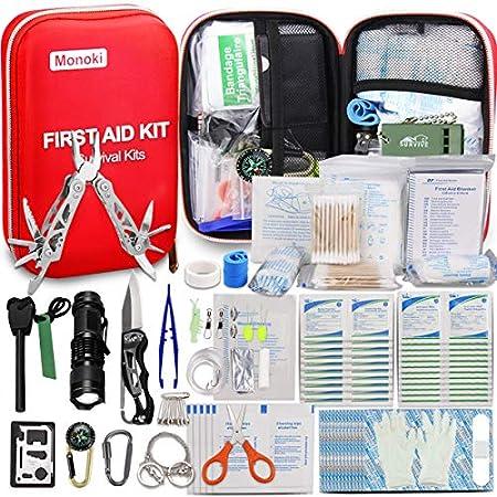 Monoki First Aid Small Survival Bag