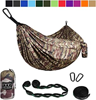 Gold Armour Camping Hammock - Extra Large Double...