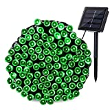 Joomer Solar String Lights 72ft 200 LED 8 Modes Outdoor String Lights Waterproof Fairy Lights for Garden, Patio, Fence, Balcony, Outdoors (Multi-Color)