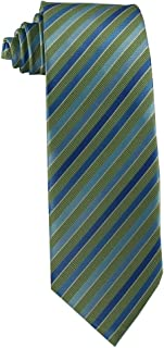 Children's Tie (ages 8-14) Olive, Jade, and Meadow Green Stripe Youth Tie