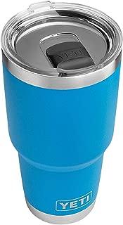 YETI Rambler 30 oz Stainless Steel Vacuum Insulated Tumbler w/MagSlider Lid, Tahoe Blue