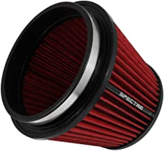 Spectre Performance HPR9886 Universal Clamp-On Air Filter: Round Tapered; 6 in (152 mm) Flange ID; 6.219 in (158 mm) Height; 7.719 in (196 mm) Base; 5.219 in (133 mm) Top